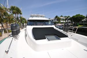 85' Pacific Mariner Flushdeck My 2007 Foward Deck