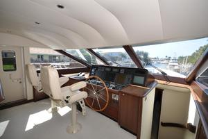 85' Pacific Mariner Flushdeck My 2007 Pilothouse Helm