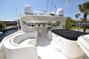 85' Pacific Mariner Flushdeck My 2007 Flybridge, Forward