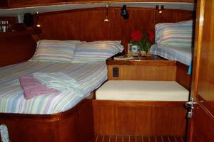 60' 1982 Gulfstar 60' MK1 Mark 1 1982 Aft cabin looking aft