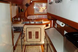 60' 1982 Gulfstar 60' MK1 Mark 1 1982 Galley looking forward