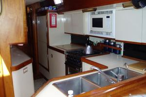 60' Gulfstar Mark 1 1982 Galley looking aft