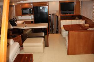60' Viking Cockpit Sport Naples Edition 2001 Galley Dinette