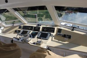 60' Viking Cockpit Sport Naples Edition 2001 Upper Helm
