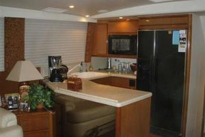 60' Viking Cockpit Sport Naples Edition 2001 Galley