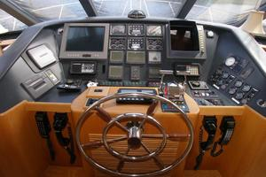58' West Bay SonShip 58 1998 Pilothouse Helm Station