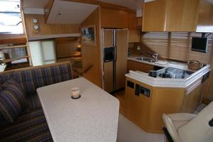 58' West Bay SonShip 58 1998 Galley & Dinette View Aft