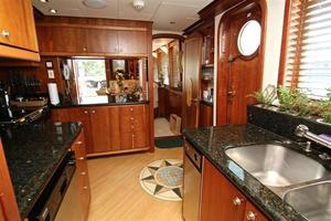 95' Explorer Expedition Yacht 2005 Galley
