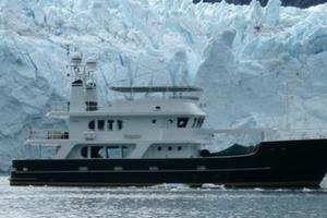 95' Explorer Expedition Yacht 2005 Impetus in Alaska