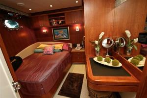 95' Explorer Expedition Yacht 2005 Queen guest stateroom