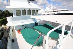 95' Explorer Expedition Yacht 2005 Boat Deck