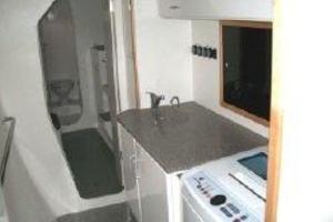 50' Voyage 500 2010 Custom laundry /storage in port hull