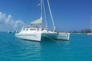 50' Voyage 500 2010 Bow view 2