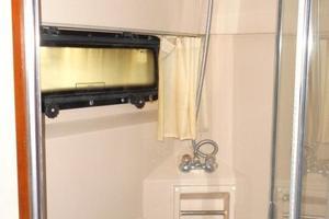 42' Carver 4207 1988 1988 Carver 4207 Aft Cabin Motor Yacht owner's shower