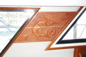 42' Carver 4207 1988 1988 Carver 4207 Aft Cabin Motor Yacht saloon custom decor
