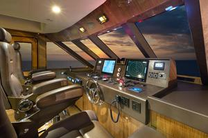 104' Cheoy Lee Global 104 2019 Pilothouse Helm
