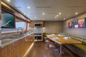 104' Cheoy Lee Global 104 2019 Galley