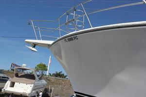 41' Hatteras 41 Sportfish 1994 41 Custom Michael Fitz Sportfish convertible 1990 pulpit and anchor