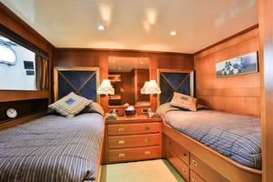122' CRN 1978/2012 122ft Tri Deck Yacht 1978 GUEST TWIN STATEROOM 1
