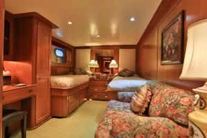 122' CRN 1978/2012 122ft Tri Deck Yacht 1978 GUEST TWIN STATEROOM 2