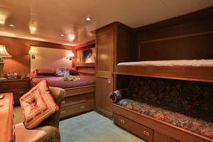 122' CRN 1978/2012 122ft Tri Deck Yacht 1978 GUEST DOUBLE STATEROOM 2 WITH PULLMAN