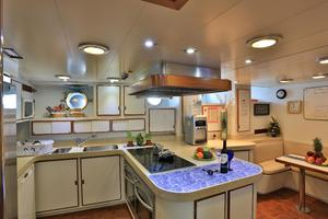 122' CRN 1978/2012 122ft Tri Deck Yacht 1978 GALLEY