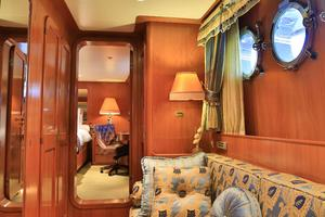 122' CRN 1978/2012 122ft Tri Deck Yacht 1978 MASTER STATEROOM ENTRANCE