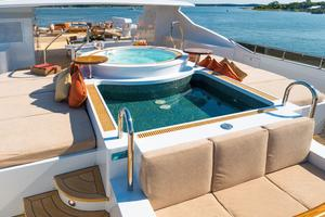 190' Trinity Yachts Motor Yacht 2010 Sun Deck Plunge Pool