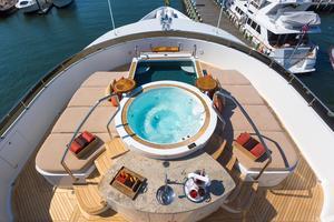 190' Trinity Yachts Motor Yacht 2010 Sun Deck Jacuzzi