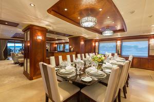 190' Trinity Yachts Motor Yacht 2010 Dining Room