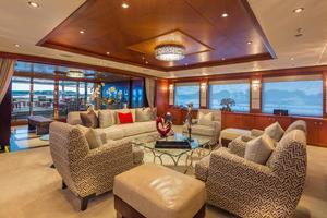 190' Trinity Yachts Motor Yacht 2010 Main Salon