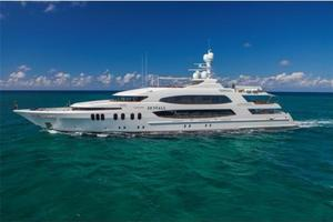 190' Trinity Yachts Motor Yacht 2010 Profile