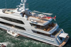 190' Trinity Yachts Motor Yacht 2010 Helicopter