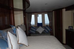 90' Ocean Alexander Sky Lounge 2013 Full Width Master Stateroom