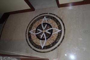 90' Ocean Alexander Sky Lounge 2013 Owner & Guest Foyer Marble
