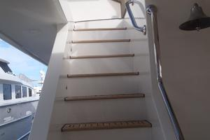 90' Ocean Alexander Sky Lounge 2013 Aft Deck Passageway