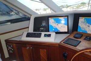 90' Ocean Alexander Sky Lounge 2013 Helm Station Navigation