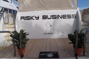 90' Ocean Alexander Sky Lounge 2013 Transom & Swim Platform