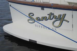 photo of Hatteras-CPMY-1977-SENTRY-Stuart-Florida-United-States-Fiberglass-Swim-Platform/Opening-to-Cockpit-452949