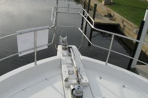52' Symbol 50 2002 Bow with dual anchor set-up with electric windless
