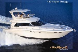 48' Sea Ray 480 Sedan Bridge 2002 Manufacturer Provided Image: 480 Sedan Bridge