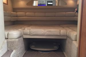 40' Sea Ray Sundancer 400 1997 Aft Seating Area Converted To Sleeping Space