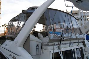45' Sea Ray 450 Express Bridge 1999 Brand New Enclosure Jan 2018