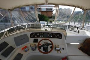 45' Sea Ray 450 Express Bridge 1999 SEA RAY 450 Express Bridge Helm