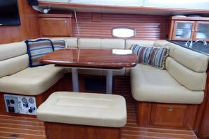 50' Hunter 50 Center Cockpit 2010 Dining Table converts to berth