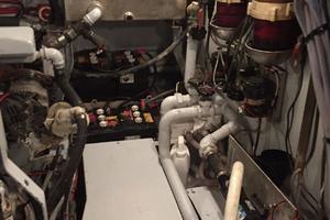 50' De Vries Motorsailer 50 1985 Engine Room