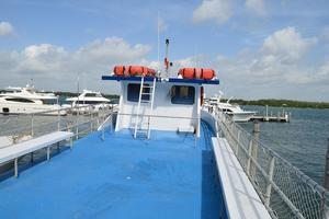 70' Drift Fishing Vessel 90 Person Commercial 1986 70' Drift Fishing Vessel Upper Deck Looking Forward
