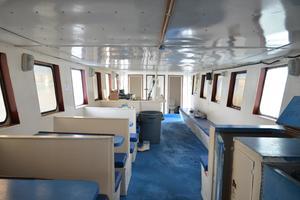 70' Drift Fishing Vessel 90 Person Commercial 1986 70' Drift Fishing Vessel Salon Looking Aft