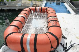 70' Drift Fishing Vessel 90 Person Commercial 1986 70' Drift Fishing Vessel Life Float Starboard