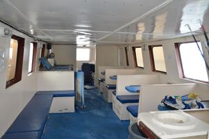 70' Drift Fishing Vessel 90 Person Commercial 1986 70' Drift Fishing Vessel Salon Looking Forward